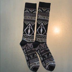 Harry Potter Deathly Hallows Socks